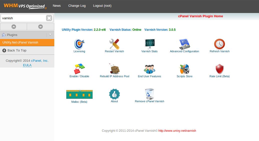 cPanel Varnish Nginx Plugin for better website performance